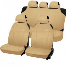 Комплект накидок на автомобильные сидения Hadar Rosen PERFECT Бежевый 22059, фото 2