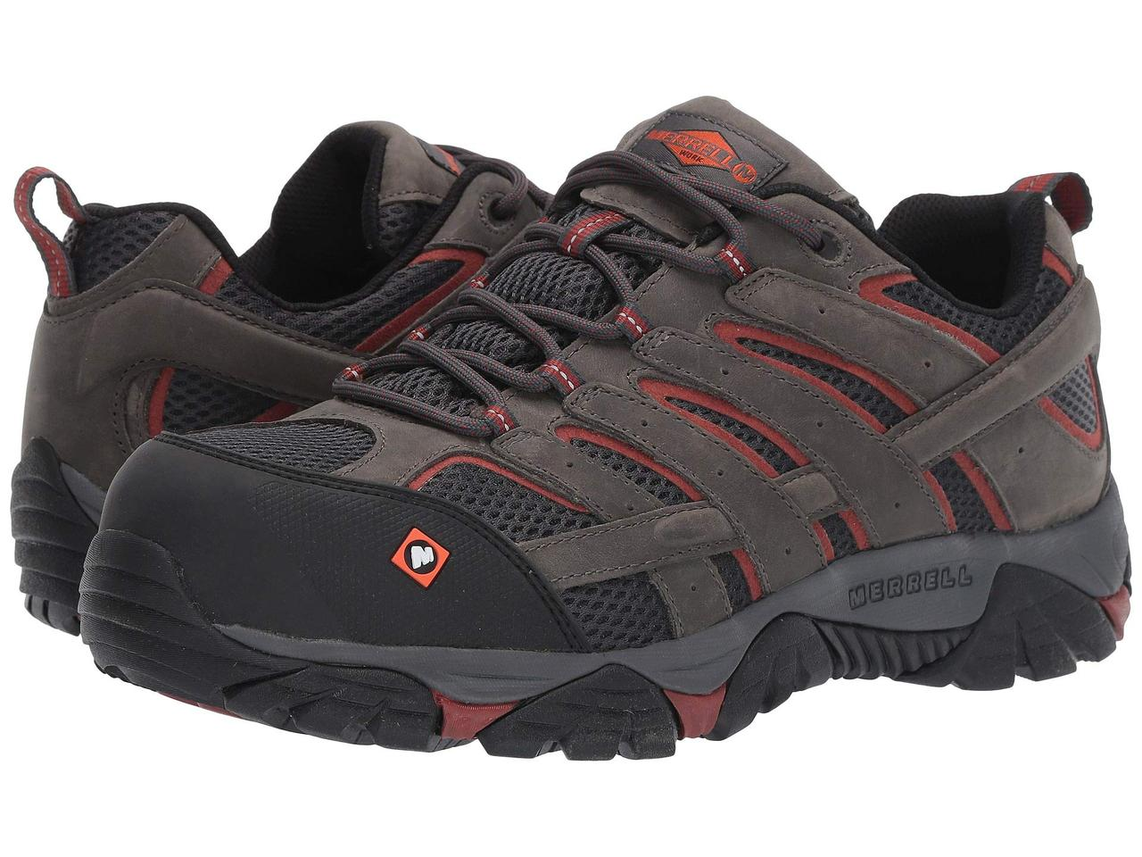Кроссовки/Кеды (Оригинал) Merrell Work Moab Vertex Vent Composite Toe Pewter