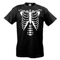 Футболка со скелетом