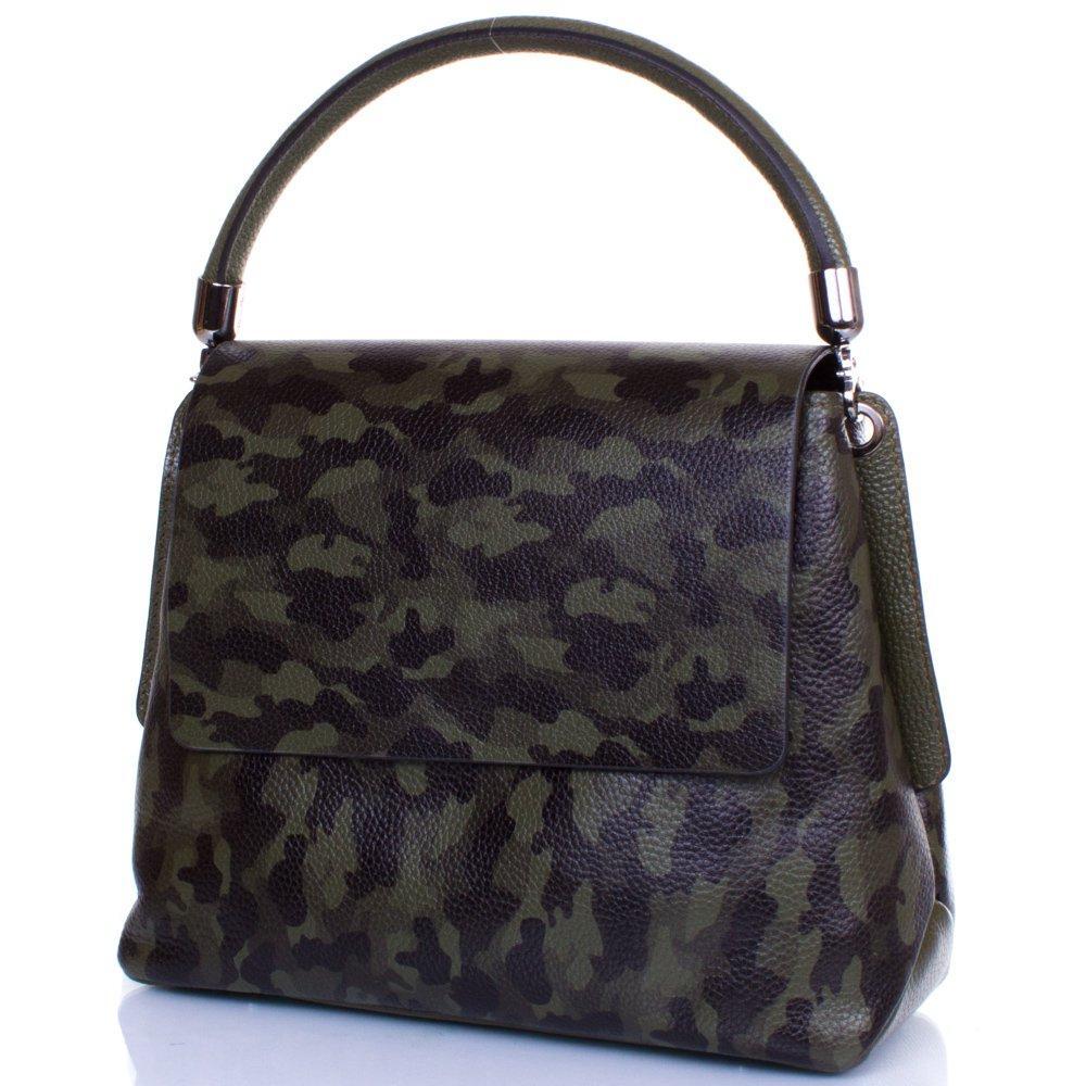 35363613cb21 Женская кожаная сумка DESISAN Зеленая (SHI1518-4) - VSETYT Интернет -  магазин в