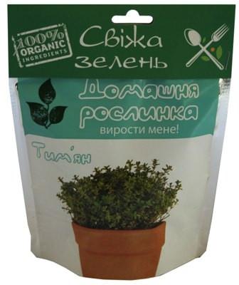 "Домашнее растение ""Чебрец (тимьян)"", 0,5 л"