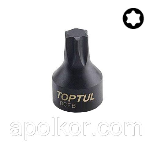 """Головка TORX T10 1/4"""" (цельная)  TOPTUL BCFB0810"""