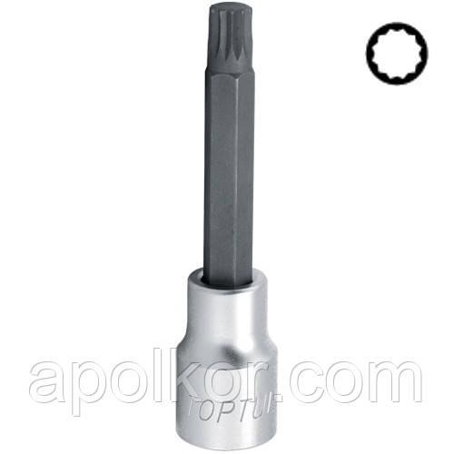 "Головка с насадкой SPLINE M6  L100mm 1/2""  TOPTUL BCJA1606"