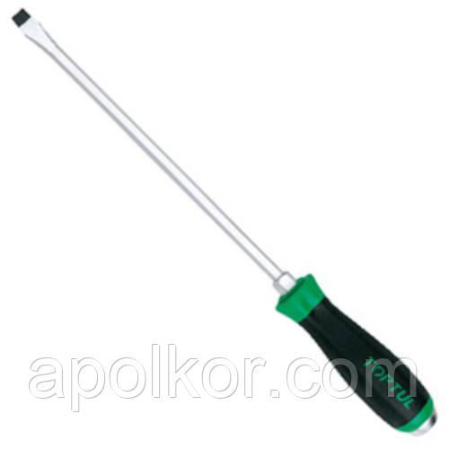 Отвертка шлицевая  10.0 x 250mm (с шестигранником ударная) TOPTUL FALB1025