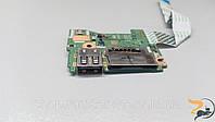 Роз'єм USB та CARD RIDER для ноутбука Acer Aspire ES1-520, ES1-521, ES1-522, N15C4, LS-D121P, б/в