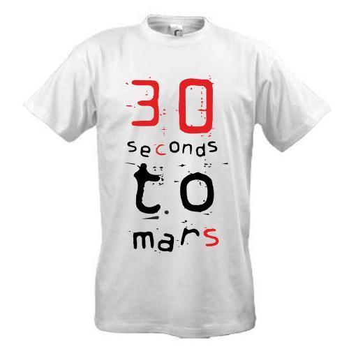 Футболка Thirty seconds to mars-3