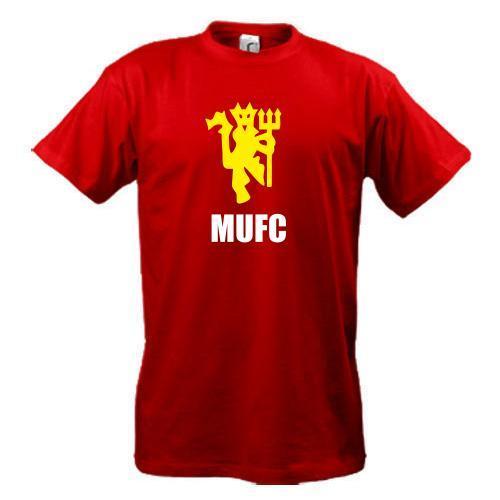 Футболка MU FC devil