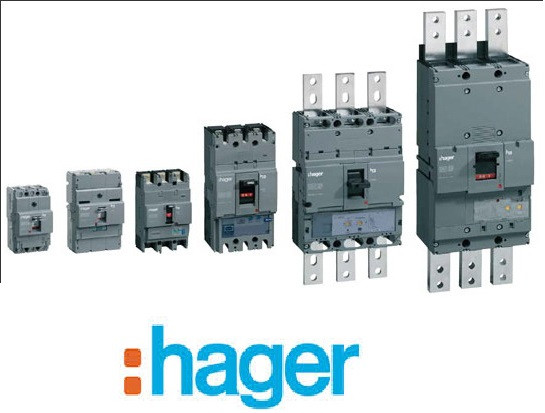 Корпусные автоматические выключатели на ток от 125А до 1600А