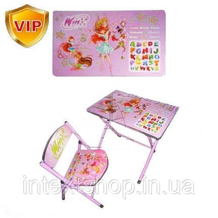 Детская парта DT 19-15 – столик со стульчиком Winx, фото 2