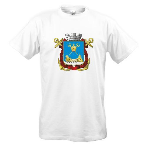 Футболка с гербом Николаева