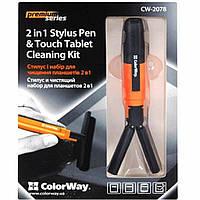 Универсальный чистящий набор ColorWay і стилус 2 в 1 (CW-2078)