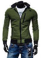 Модна чоловіча куртка приталені, фото 1