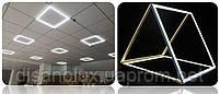 Светодиодный  светильник Рамка LED Panel 48W  595x595 мм  4100К, фото 5