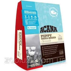 Acana Puppy Small Breed щенки мелких пород 340 гр.