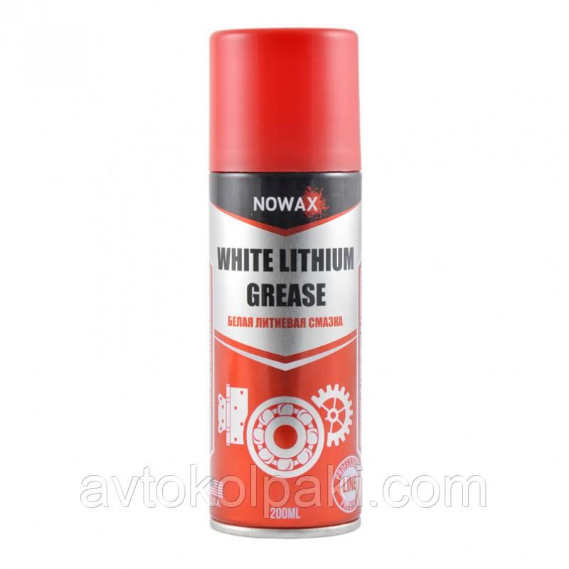 Белая литиевая смазка NOWAX 200 мл