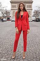 Однотонный женский пиджак S M L