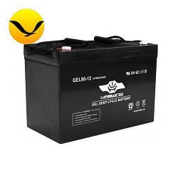 Гелевый аккумулятор Haswing 90a/h (Тяговый аккумулятор Хасвинг);