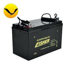 Гелевый аккумулятор Fisher 80a/h (Тяговый аккумулятор Фишер);