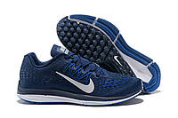 Мужские кроссовки Nike Air Zoom Winflo Blue Реплика, фото 1