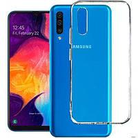 Чехол силиконовый Samsung A505 A307 Galaxy A50 A30s 2019 Ultra Thin Case Transparent