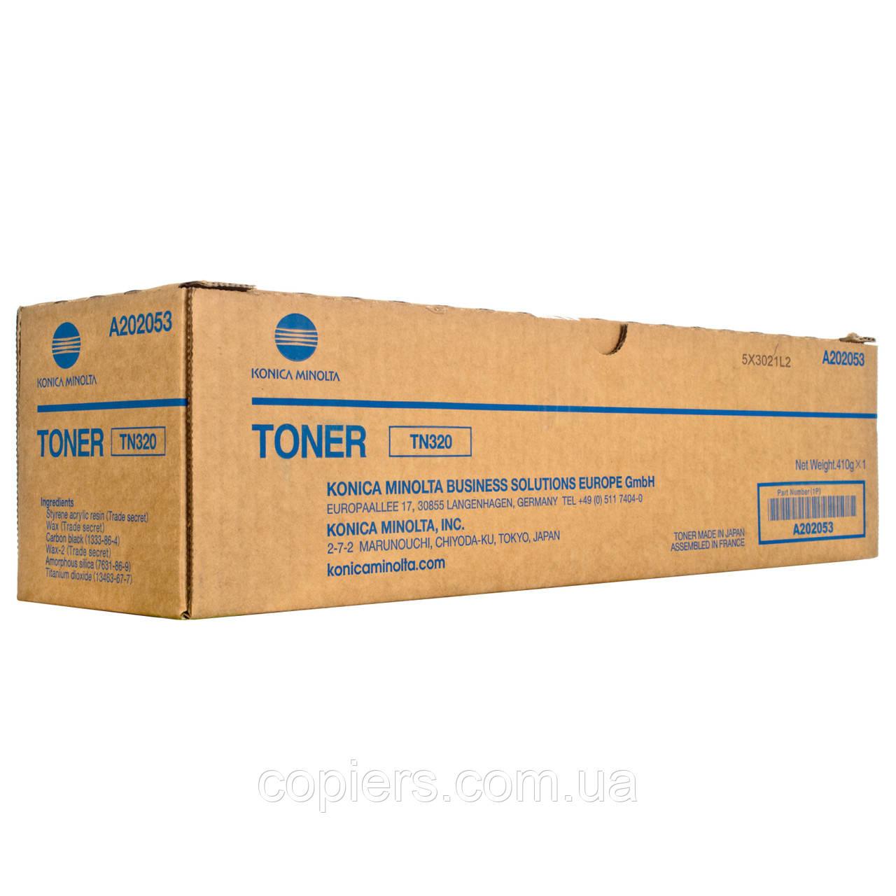Тонер картридж TN320 Konica Minolta Bizhub 36, оригинал