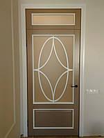 Двери межкомнатные деревянные (ясень) крашенные., фото 1