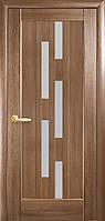 Двери межкомнатные Новый Стиль Лаура (Стекло сатин) ПВХ DeLuxe, фото 1