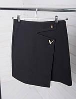 Женская мини юбка черная
