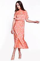Летнее женское платье длиной миди, фото 2