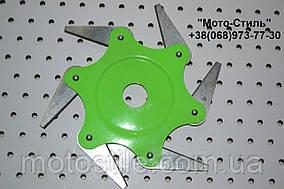 Косильная головка с металлическими ножами для мотокос 6Т