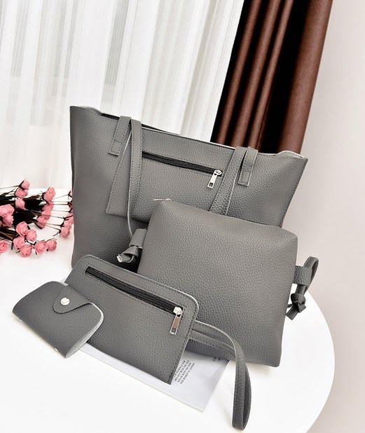 Элегантный  набор женских сумок 4в1