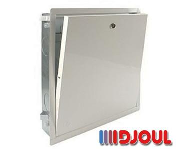 Коллекторный шкаф Djoul 610х580х110/117 мм встроенный на 5-7 выходов