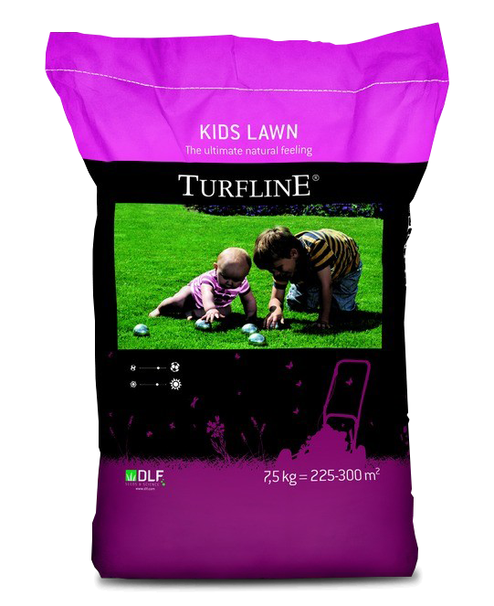 Газонная трава Turfline Kids Lawn / Кидс Лоун, DLF Trifolium - 7,5 кг
