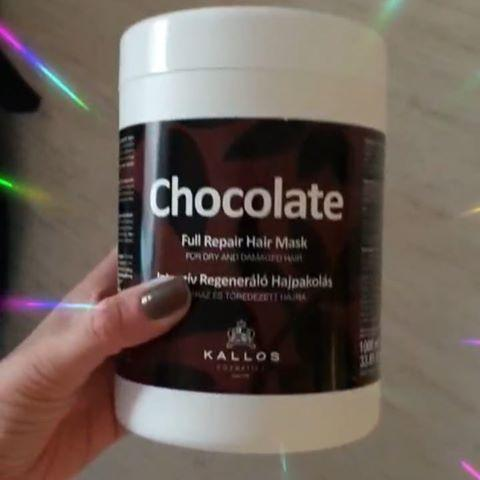 Kallos chokolate маска для волос 1000мл