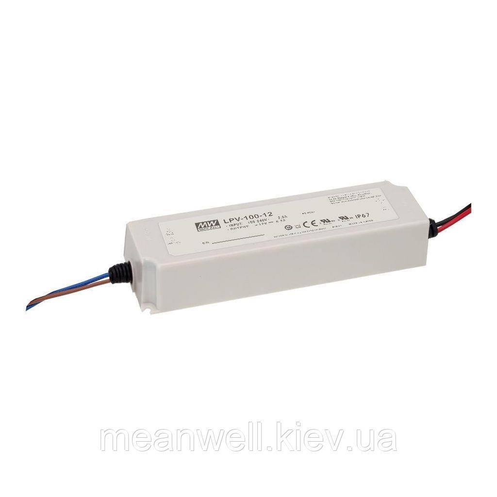 LPV-100-36 Блок питания Mean Well 100.8вт, 36в, 2.8А драйвер сведодиодов