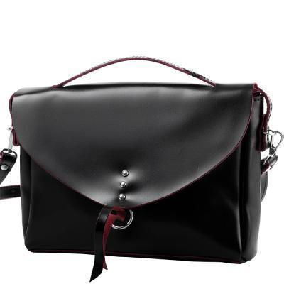 Сумка-почтальонка (мессенджер) ETERNO Женская кожаная сумка ETERNO (ЭТЕРНО) AN-K121-CH
