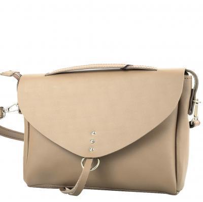 Сумка-почтальонка (мессенджер) ETERNO Женская кожаная сумка ETERNO (ЭТЕРНО) AN-K121-SK