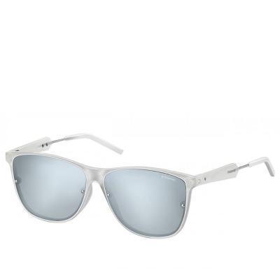 Солнцезащитные очки Polaroid Очки женские с поляризационными ультралегкими линзами POLAROID (ПОЛАРОИД) P6019S-TNY58JB