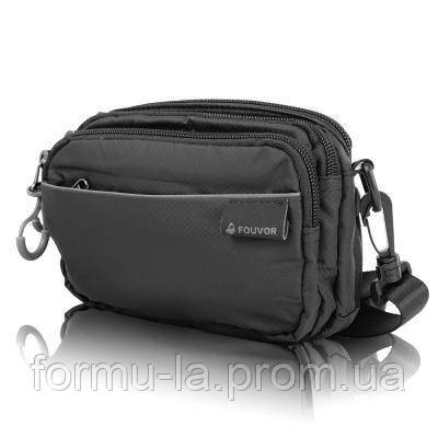 Сумка поясная Fouvor Мужская сумка через плечо или на пояс FOUVOR (ФОВОР) VT-2802-18