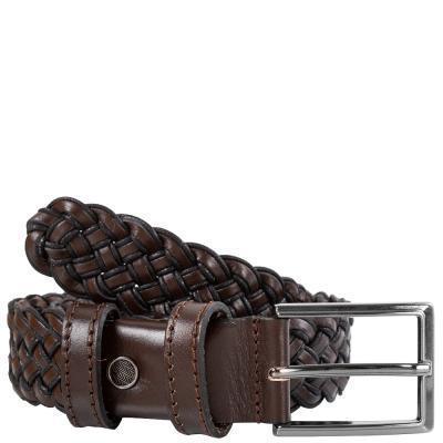 Ремень Y.S.K Ремень плетёный кожаный Y.S.K. (УАЙ ЭС КЕЙ) SHI3.5-9202-1