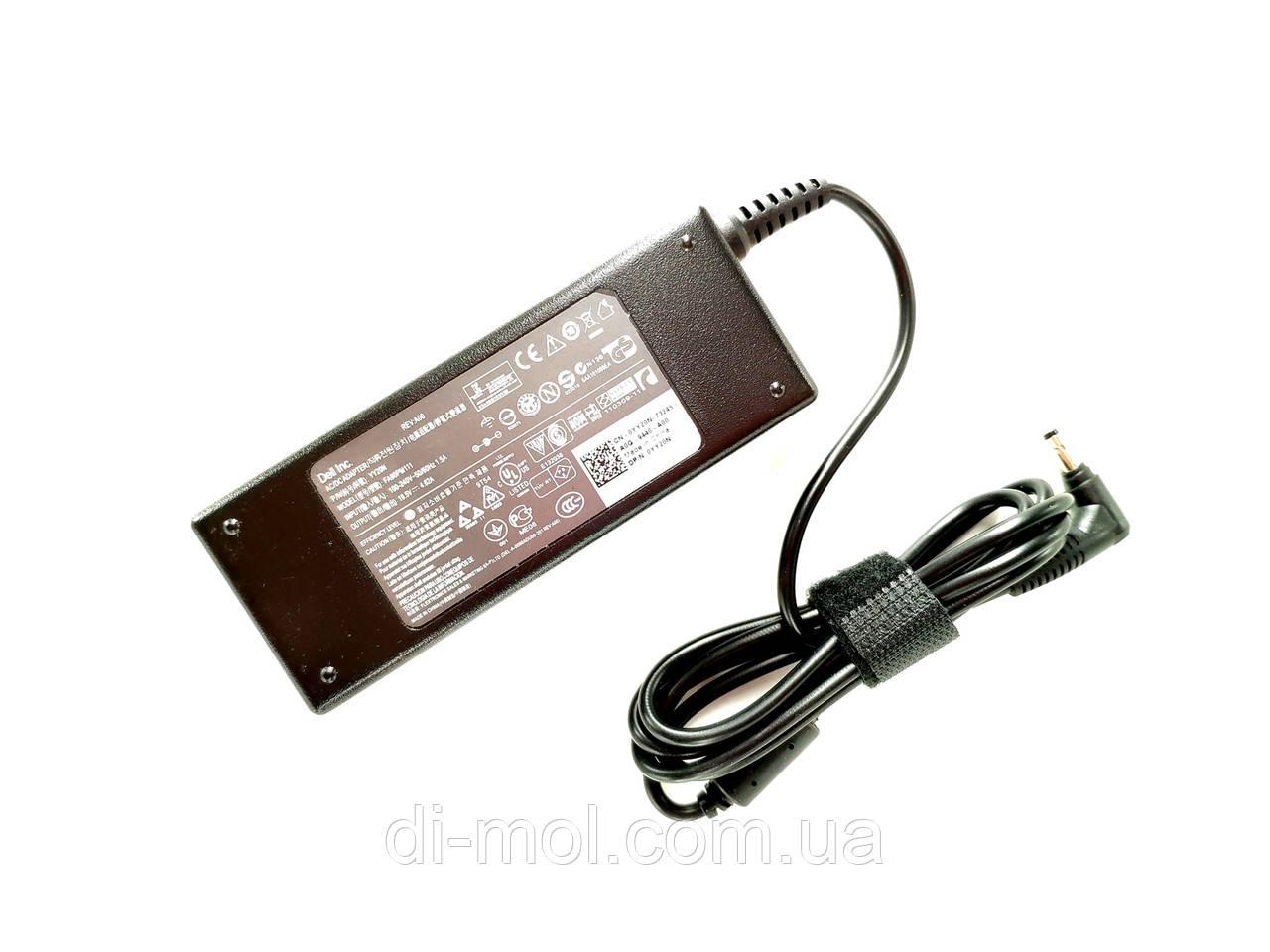 Оригинальный блок питания для ноутбука Dell 19.5V, 4.62A (90W), разъем 4.0/1.7