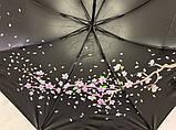 Механический зонт с выворотным механизмом 8 спиц цвет салатовый, фото 3