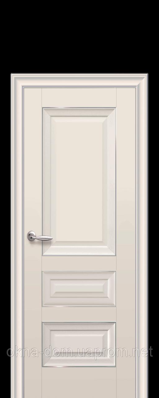 Двери межкомнатные Новый Стиль Статус (Глухое без молдинга) ПП Premium