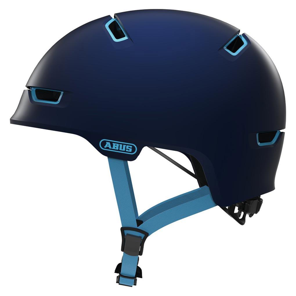 Шолом велосипедний ABUS SCRAPER 3.0 ACE L Ultra Blue