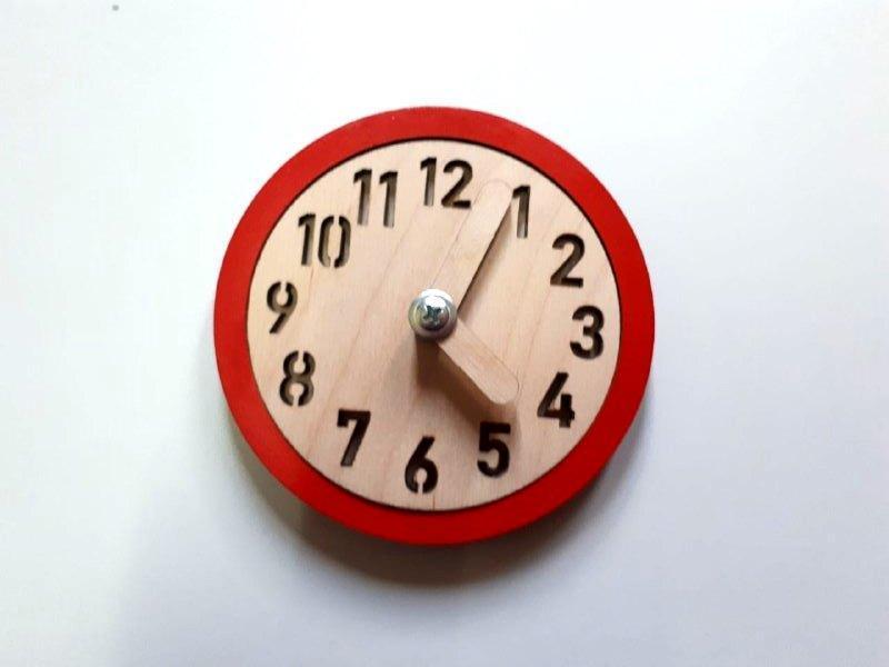 Заготовка для бизиборда Часы с ободком