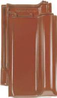Керамическая черепица BRAAS РУБИН 13 V осенне-красный топ-глазурь