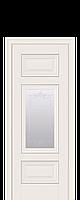 Двери межкомнатные Новый Стиль Шарм (Со стеклом с молдингом и рисунком) ПП Premium