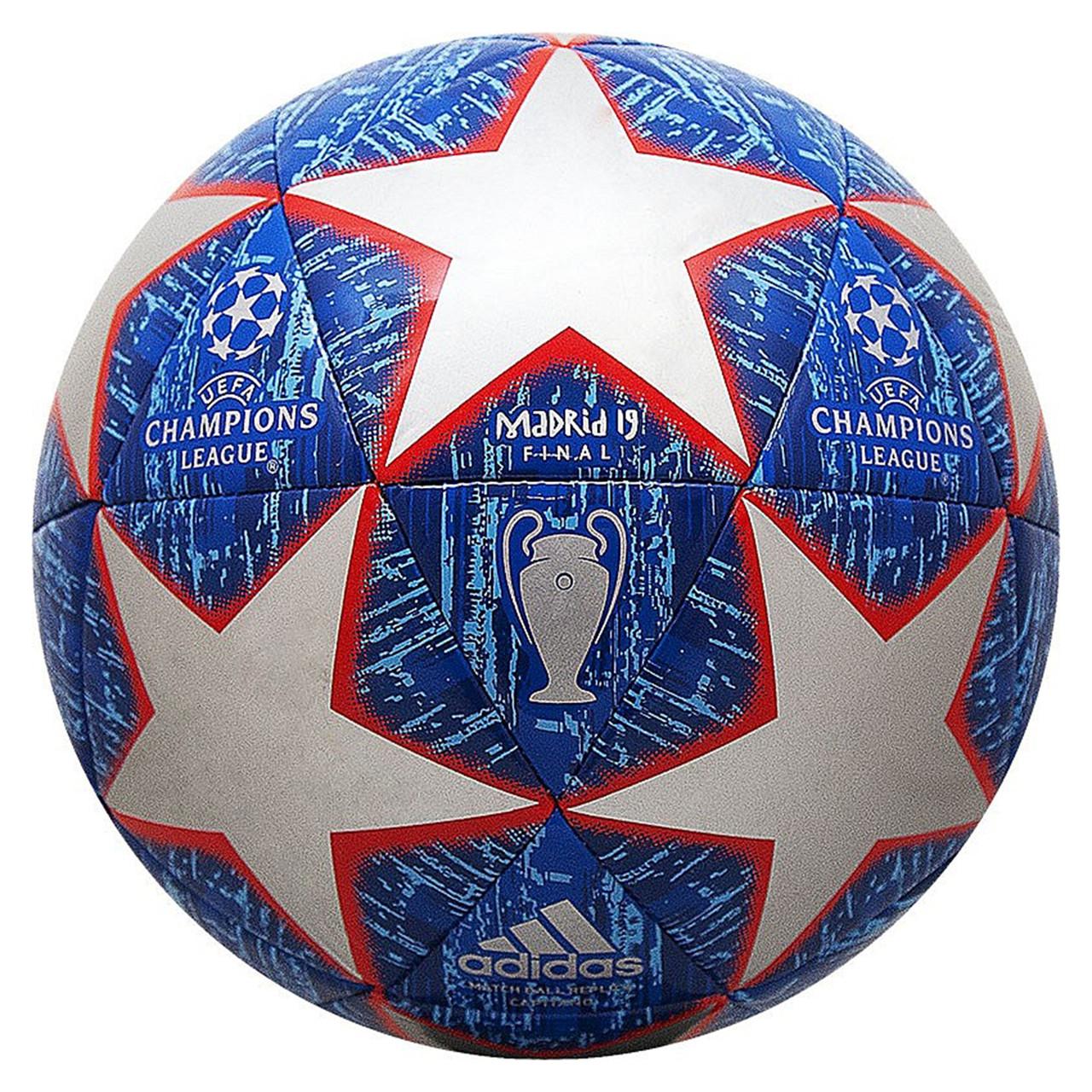 Футбольный мяч Adidas FINALE 19 MADRID CAPITANO 5 DN8678