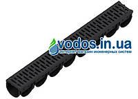 Лоток водоотводный Spark ЛВ-10.14.10 пластиковый с решеткой пластиковой (комплект)  088208