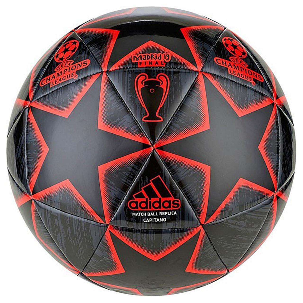 Футбольный мяч Adidas FINALE 19 MADRID CAPITANO 5 DN8679